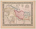 1860 Map of Persia, Turkey in Asia, Afghanistan, Beloochistan.jpg