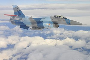 18th Aggressor Squadron - Image: 18th Aggressor Squadron F 16C 86 0351