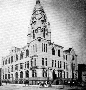 Roman Catholic High School - Roman Catholic High School for Boys as it appeared in 1900