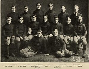 1905 Illinois Fighting Illini football team - Image: 1905 Illinois Fighting Illini football team