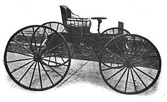 "Success Automobile Manufacturing Company - Success Model A ""Auto Buggy"" High Wheeler (1906)"
