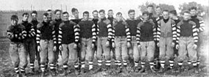 1911 Nebraska Cornhuskers football team - Image: 1911 Nebraska Cornhuskers football team