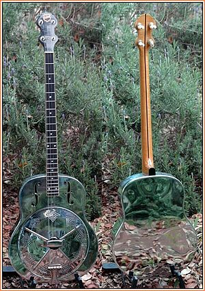 Tenor guitar - 1928 National Style O plectrum guitar from Lowell Levinger's collection