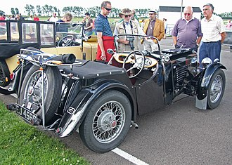 BSA Scout - Nine open 2-seater 1935 series I