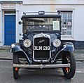 1937 Austin Taxi LL ( DLM 218) (15191692496).jpg
