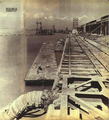 1952-08 修建中的塘沽新港第1号码头.png