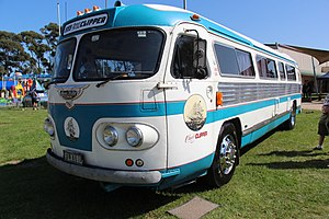 InterCity (New Zealand) - Ansair Flxible Clipper as operated by Newman from 1955