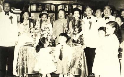 1955 Ma Bufang with KMT ambassador to Saudi Arabia