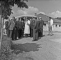 1957 Visite du ministre de l'agriculture Mr ANDRE DULIN au CNRZ-44-cliche Jean Joseph Weber.jpg