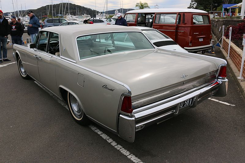 File:1964 Lincoln Continental (28446257193).jpg