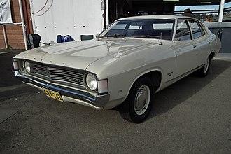 Ford Falcon (XA) - Image: 1972 Ford XA Falcon 500 (6052590802)