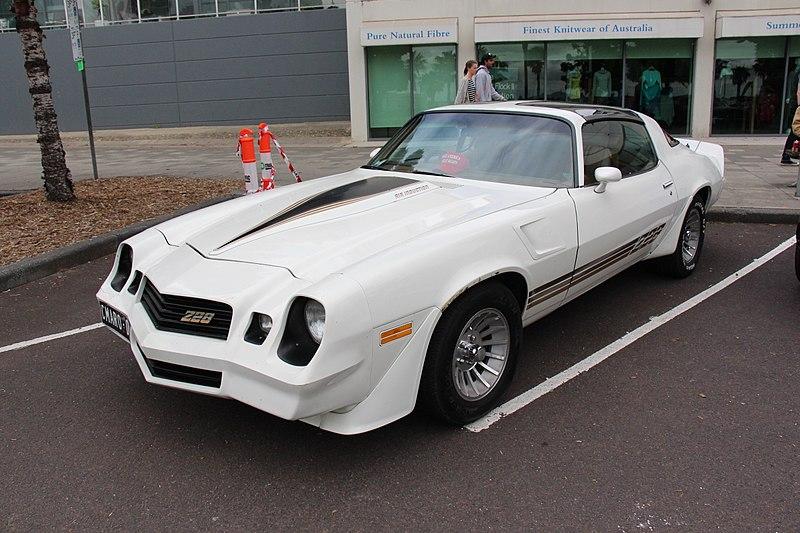 File:1981 Chevrolet Camaro Z28 Coupe (31233769382).jpg