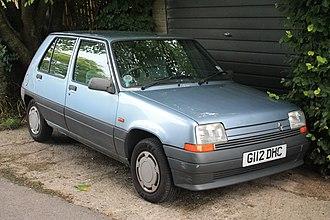 Renault 5 - Second generation R5
