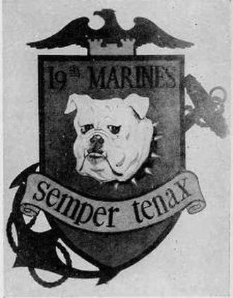 19th Marine Regiment (United States) - Image: 19th Marines