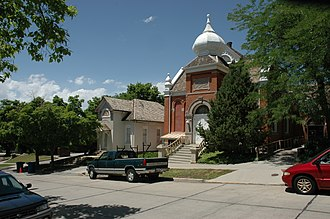 National Register of Historic Places listings in Salt Lake City - Image: 19th Ward Meetinghouse SLC