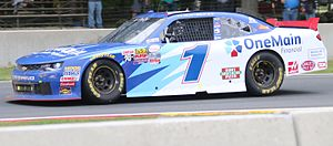 JR Motorsports - Elliott Sadler at Road America in 2016.