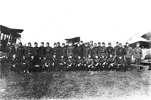 I Corps Observation Group - 1st Aero Squadron, Julvecourt Aerodrome, France, November 1918