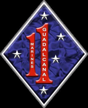 1st Marine Regiment (United States) - 1st Marine Regiment Logo