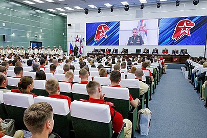 1st meeting of the youth military-patriotic movement «Yunarmiya» 01.jpg