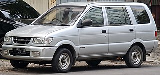 Isuzu Panther Multi-purpose vehicle and pickup truck manufactured by Isuzu