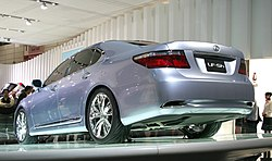 Premiere of the Lexus LF-Sh concept at the Tokyo Motor Show.