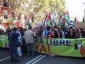 2006 Western Sahara protests in Madrid 4.jpg