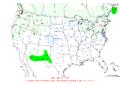 2007-01-11 24-hr Precipitation Map NOAA.png