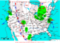 2007-04-07 Surface Weather Map NOAA.png