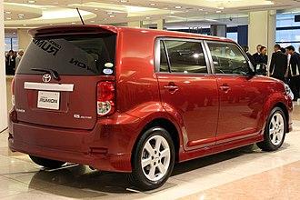 Toyota Corolla Rumion - Rear view