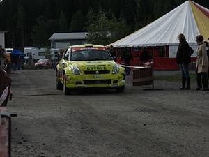 2007 Rally Finland shakedown 30.JPG