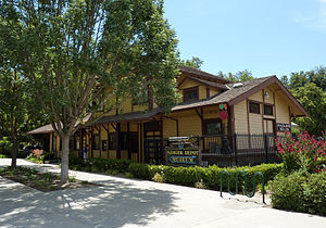 Sanger, California - The Sanger Depot Museum is located in the old Sanger Railroad Depot