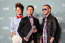 2011 MuchMusic Video Awards - Abandon All Ships.jpg