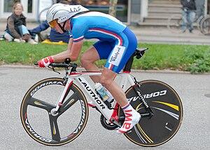 Jiří Hudeček - Image: 2011 UCI Road World Championship Jiri Hudeček