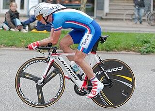 Jiří Hudeček Czech bicycle racer