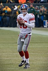 Manning w barwach New York Giants