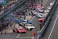 2012 Super GT Sugo pitlane open.jpg