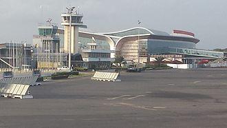 Lomé–Tokoin International Airport - Image: 2014 06 16 17 21 49 Togo Maritime Station Météo