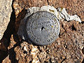 2014-10-09 10 29 09 United State Geological Survey Bench Mark at the summit of Granite Peak in Humboldt County, Nevada.JPG