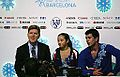 2014 Grand Prix of Figure Skating Final Chelsea Liu Brian Johnson Todd Sand IMG 2973.JPG