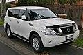 2014 Nissan Patrol (Y62) ST-L wagon (2015-08-07) 01.jpg