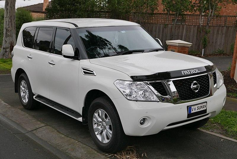 File:2014 Nissan Patrol (Y62) ST-L wagon (2015-08-07) 01 ...