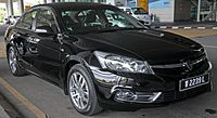 2014 Proton Perdana Front Three Quarter.JPG