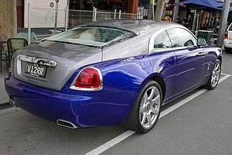 Rolls-Royce Wraith (2013) - Rolls-Royce Wraith coupe