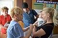 2015-09-02. Эвакуация детей из Донецка на лечение в Москву 065.jpg