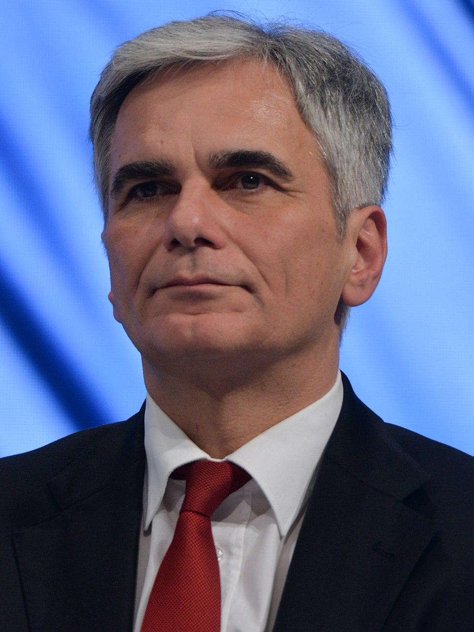 2015-12 Werner Faymann SPD Bundesparteitag by Olaf Kosinsky-26 (cropped)