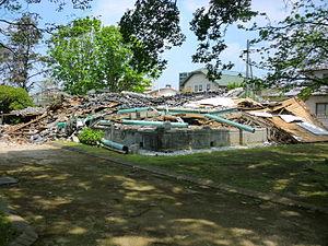 2016 Kumamoto earthquakes - Image: 2016 Kumamoto earthquake Mr. Janes's residence 1