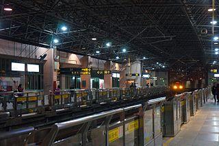 Zhongtan Road station Shanghai Metro station