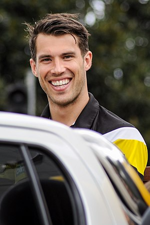 Alex Rance - Rance pictured during the  2017 AFL Grand Final parade