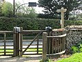 2018-04-20 Kissing gate, Parish church of Saint Mary the Virgin, Northrepps, Cromer.JPG