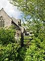 2018-05-11 Churchyard gate, St Marys, Roughton.JPG
